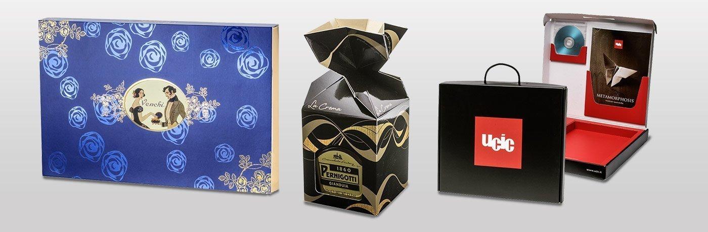 Luxury Pack e scatole rivestite