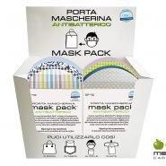 Nuovo porta mascherina antibatterico Mask pack®